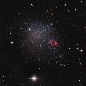 IC 1613 Dwarf Galaxy in Cetus
