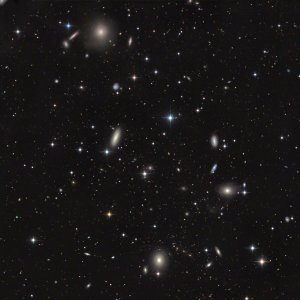 NGC1221-3-5 Galaxy-Group in Eridanus