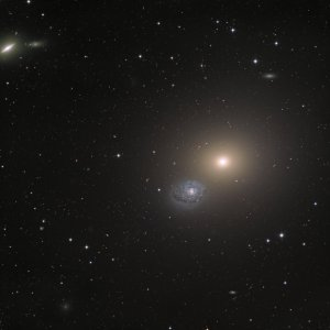 M 60 / NGC 4647 Galaxy pair in Virgo