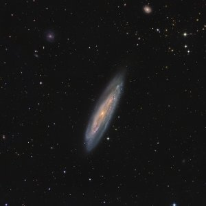 M98 Galaxy in Coma Berenices