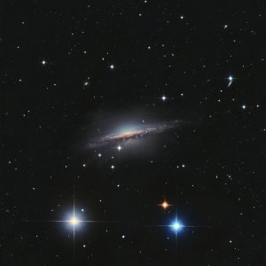 NGC 1055 Galaxy in Cetus