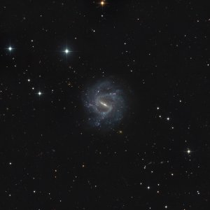 NGC 1073 GALAXY IN CETUS