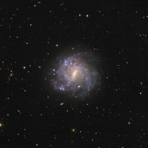 NGC5068 Galaxy in Virgo