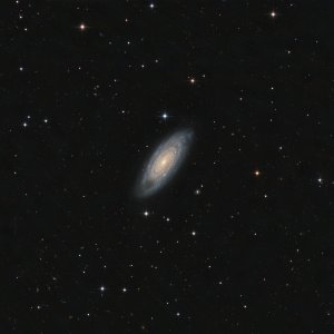 NGC 7606 Galaxy in Aquarius