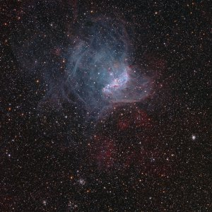 NGC 346 Nebula in SMC
