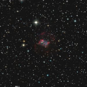 Abell 22 (PK215+11.1) PN in Canis Minor