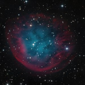 Abell 31 Planetary Nebula in Cancer